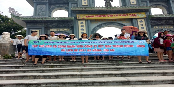 Công Ty May Thành Công và Chương trinhg Tour Đà Nẵng Dừa 4 Ngày 3 đêm