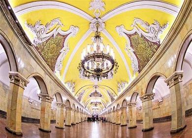 Tour Nga 8 Ngày 7 ngày  Moscow-Saint Petersburg