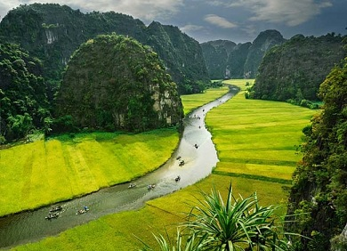 Tour HaNoi-Halong-Hoa Lu- Tam Coc 5 days 4 night
