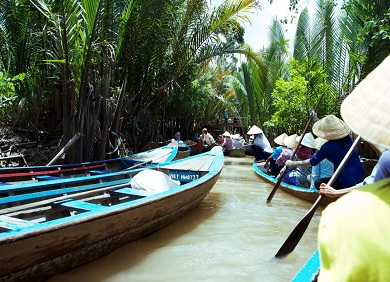 Mekong Delta tour 2 days  1 night
