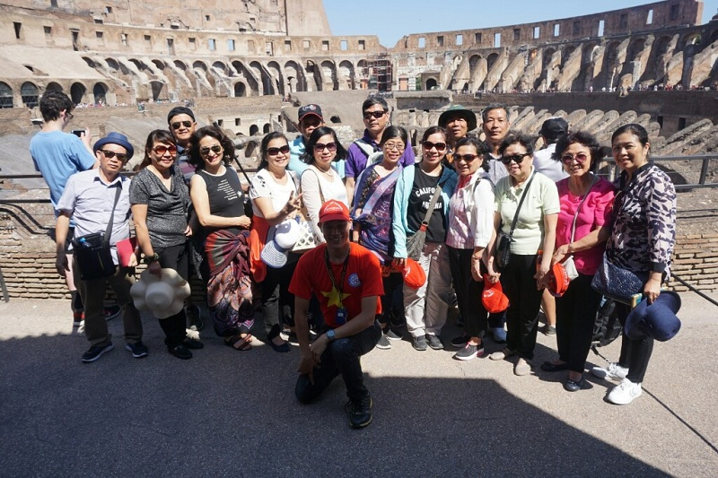 Tour Châu Âu 12 ngày Pháp-Thụy Sỹ-Ý-Vatican-Monaco