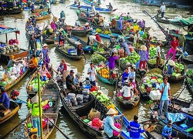 Tour Sài Gòn-Đại Nam-Mỹ Tho-Cần Thơ-Vũng Tàu 6 ngày 5 đêm