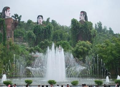 Tour Teambuilding Hà Nội  Hồ Núi Cốc 2 ngày 1 đêm