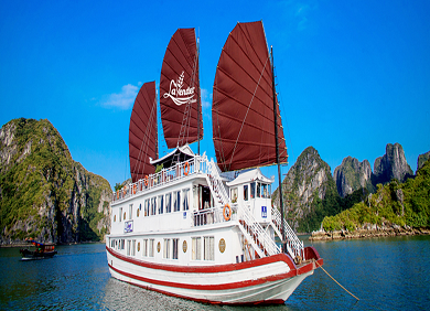 Halong Bay with 3-star Lavender Cruise (2D1N)