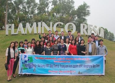 Tour Flamingo Đại Lải 2 ngày 1 đêm - Teambuidling,Gala