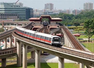 Kinh nghiệm đi tàu MRT ở Singapore